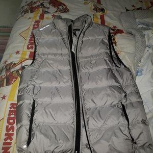 Silver ralph lauren polo rlx vest size small rare